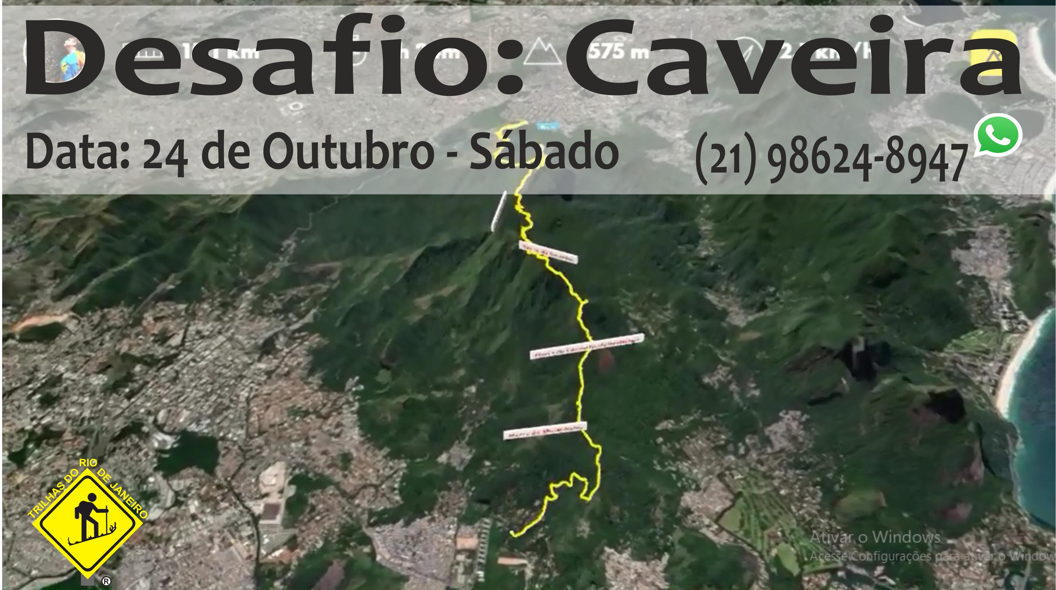 Desafio Caveira - Trilhas do Rio de Janeiro